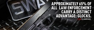 law_enforcement pick Glock 65 percent of the time