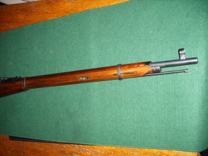 Barrrel and muzzle of a 91/30 Mosin