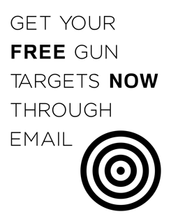Picture telling you about how you can get a free target through email